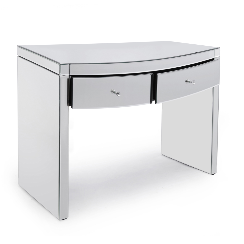 Layla Curved Mirrored Dressing Table