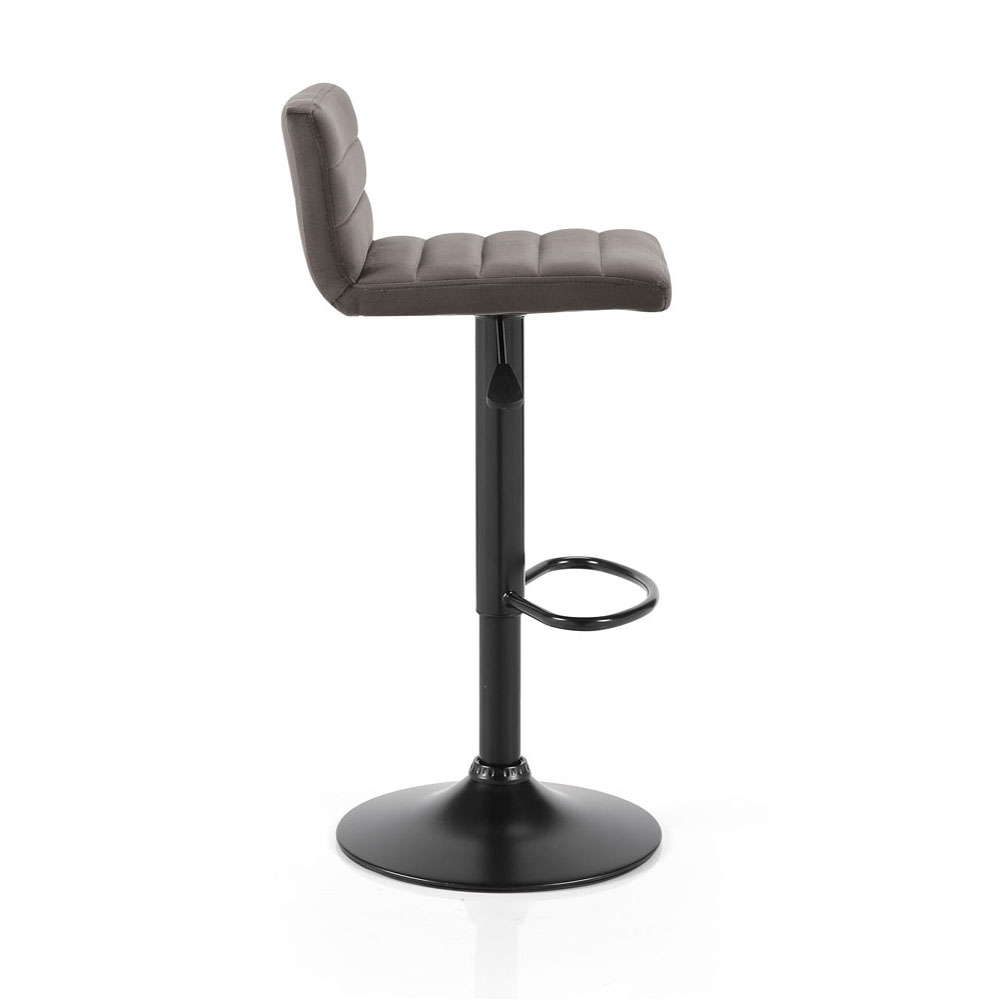 Logan Velvet Gas Lift Bar Stool