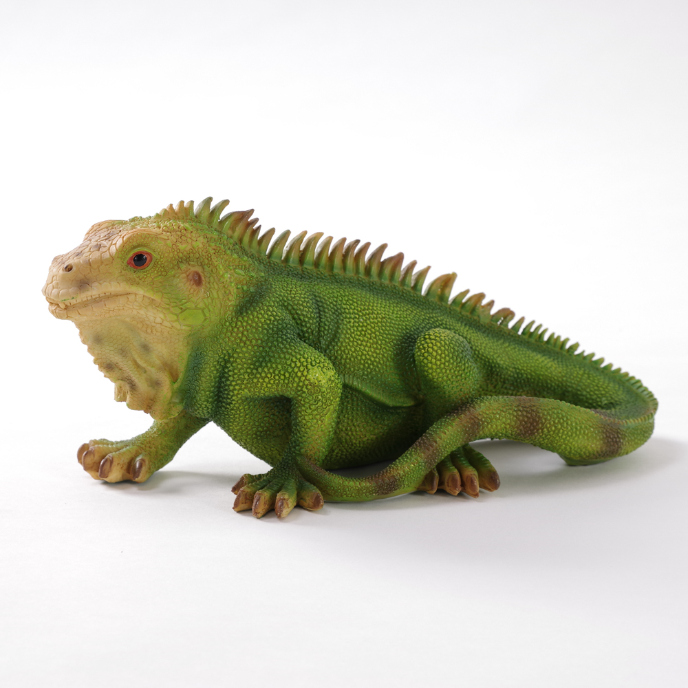 Green Lizard Garden Ornament