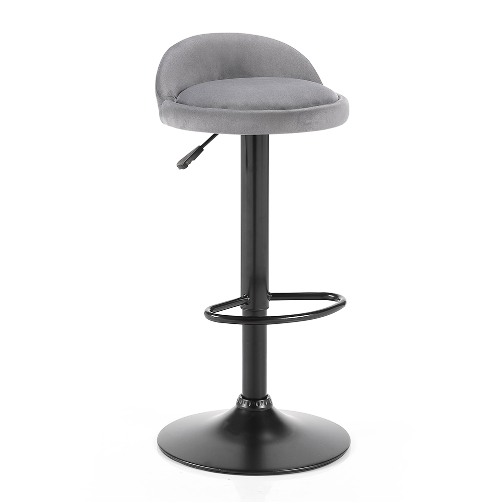 Cameron Bar Stool-Grey