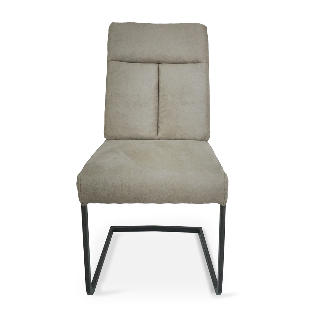 Alfred Dining Chair with Tall Cantilever Style Leg