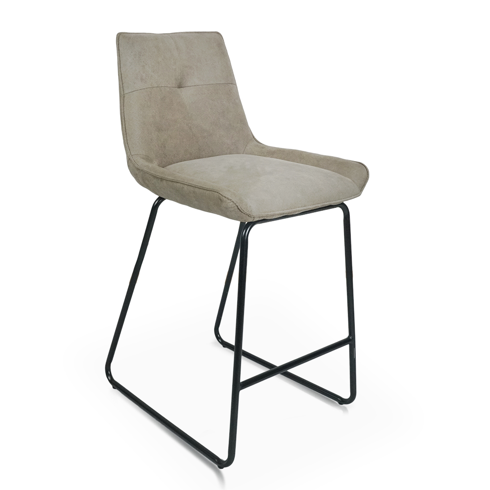 Ade Dining Chair with Tall Sleigh Style Leg