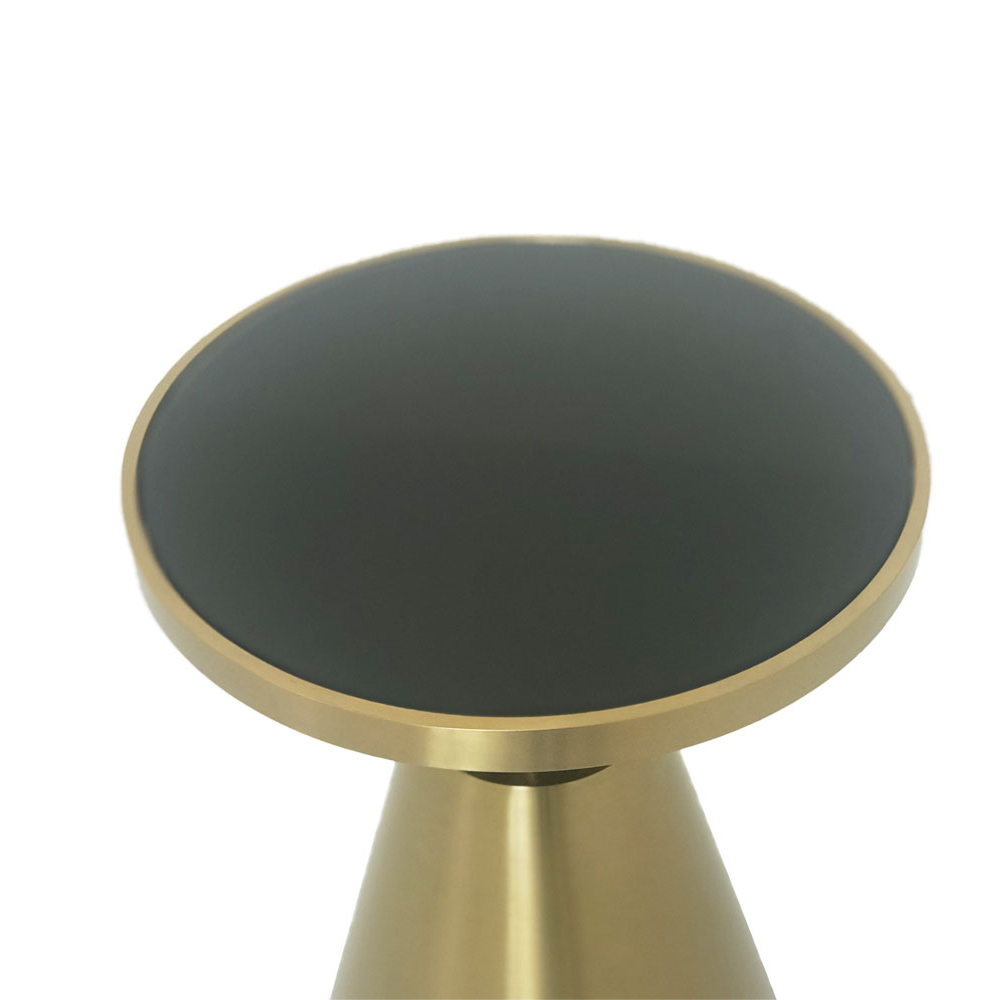 Eclipse Range Golden Side Table