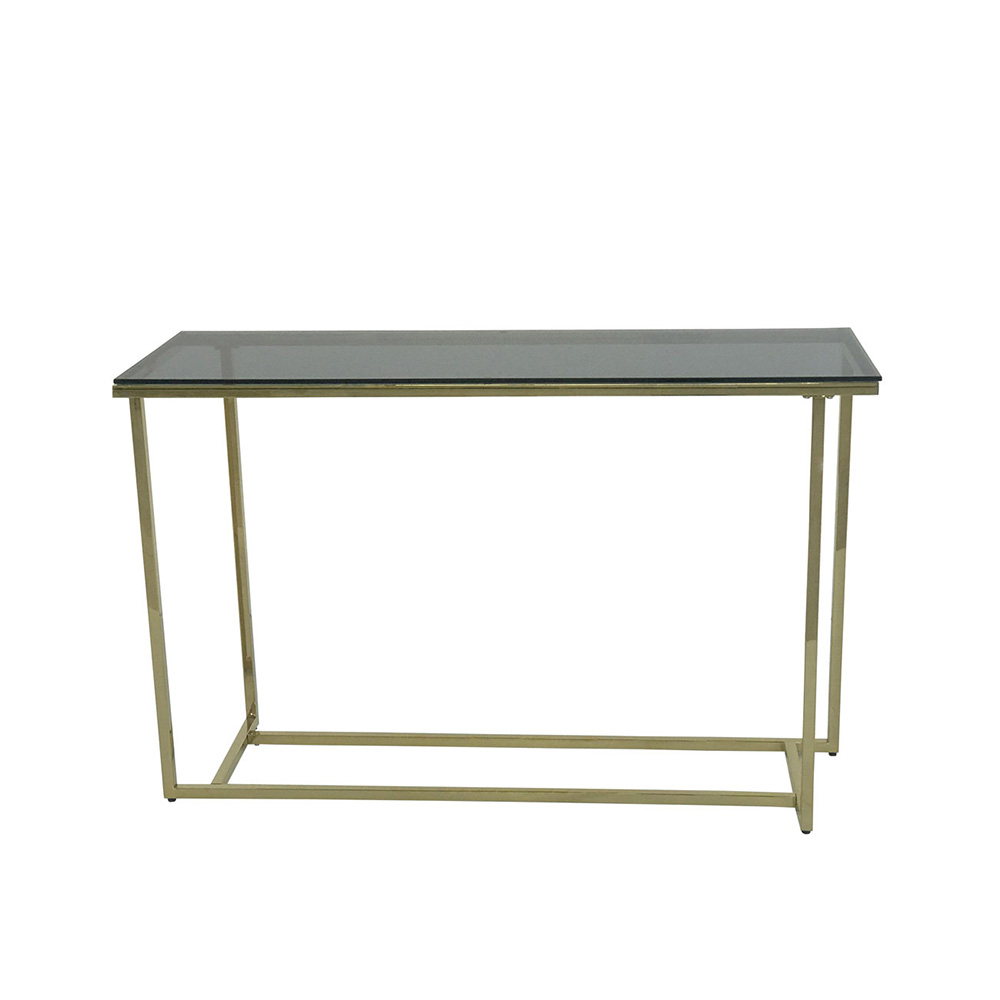 Eclipse Range Golden Console Table