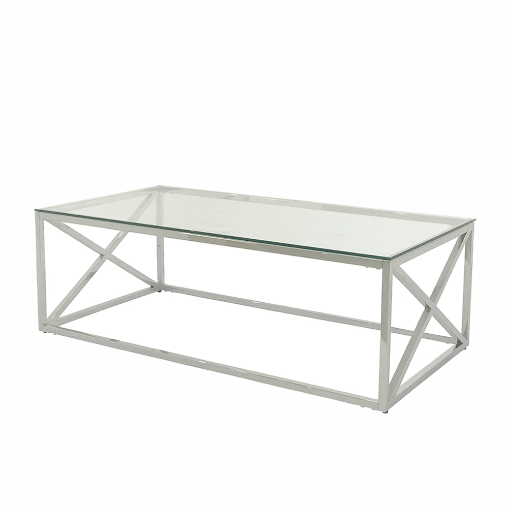 Eclipse Range Silver Coffee Table