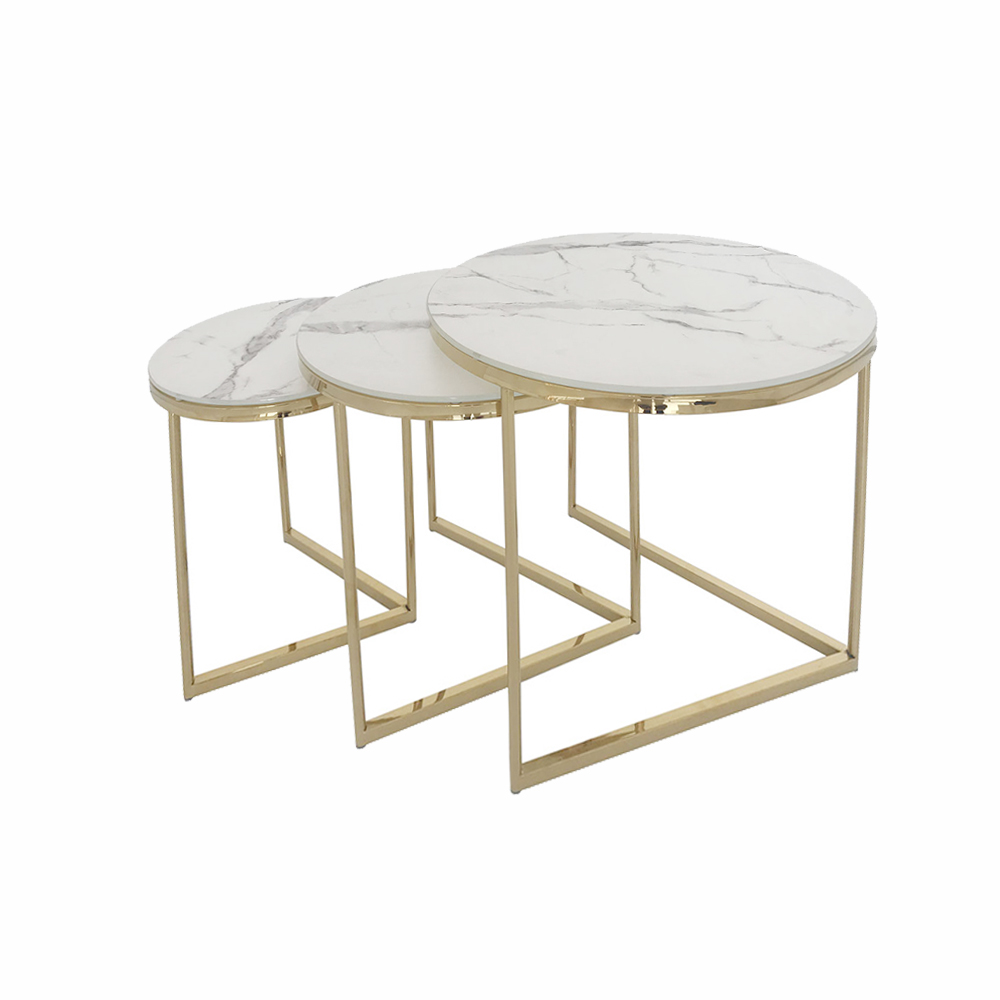 Eclipse Range Golden Nest of Tables (3/S)